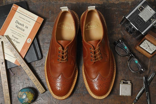 trickers brogue